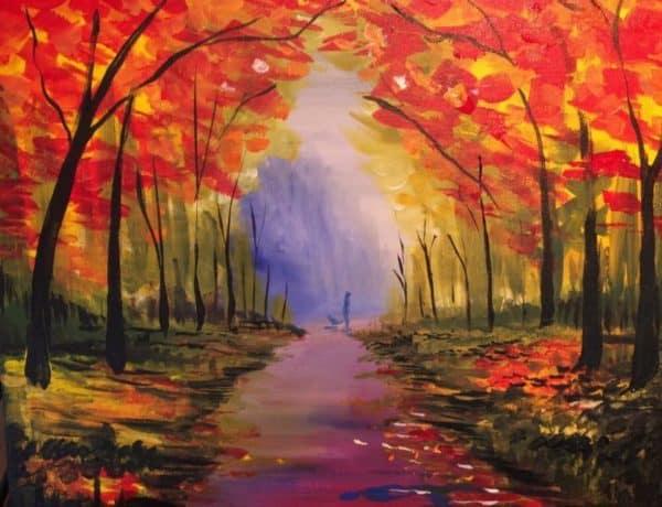 Art Party 1021 - Fall Path - Thingamajiggers, Gander