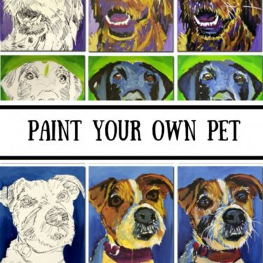 Art Party 0319 - Paint Your Own Pet – Red Shores, Summerside